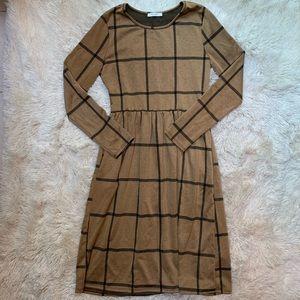 Reborn J Windowpane Dress